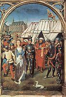 The Reliquary of St. Ursula, 1489, memling