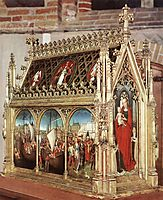 The Reliquary of St. Ursula, 1489, memling