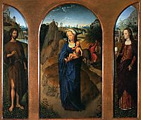 The Rest on the Flight into Egypt  , memling