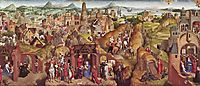 Scenes from the life of Mary, 1480, memling
