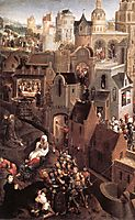 Scenes from the Passion of Christ (left side), 1471, memling