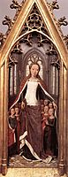St. Ursula and the Holy Virgins, from the Reliquary of St. Ursula , 1489, memling
