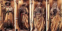 St. Ursula Shrine: Figures, 1489, memling