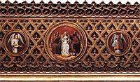 St. Ursula Shrine: Medallions, 1489, memling