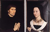 Tommaso Portinari and his Wife, c.1470, memling