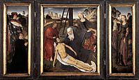 Triptych of Adriaan Reins, 1480, memling
