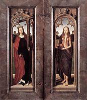 Triptych of Adriaan Reins closed, memling