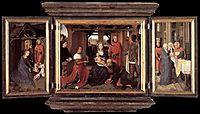 Triptych of Jan Floreins, 1479, memling