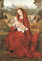 Virgin and Child, memling