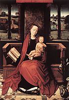 Virgin and Child Enthroned, c.1480, memling