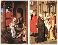 Wings of a Triptych, c.1470, memling