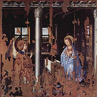 Annunciation, 1474, messina