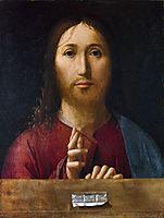 Christ Blessing, 1465, messina