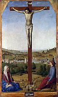 Crucifixion, 1475, messina