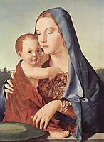Madonna and Child (Madonna Benson) , 1470, messina