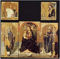 Polyptych with St. Gregory, 1473, messina