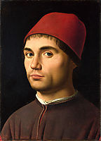 Portrait of a Man, 1473, messina