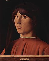 Portrait of a Man, 1474, messina