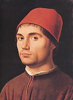 Portrait of a Man, 1475, messina