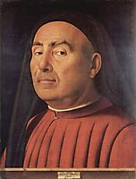 Portrait of a Man (Trivulzio portrait), 1476, messina