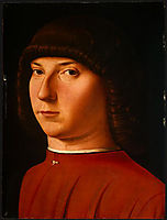 Portrait of a Young Man, c.1475, messina