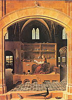 St. Jerome in His Study, c.1475, messina