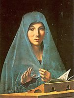 Virgin Annunciate, 1475, messina