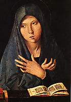 Virgin of the Annunciation , 1473, messina