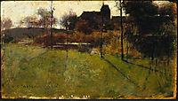 Afternoon by the River at Grez, 1884, metcalf