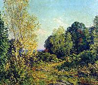 Approaching Autumn, 1909, metcalf