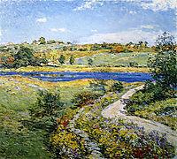 Autumn Roadside, 1918, metcalf