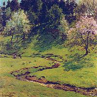 Blossom Time, 1910, metcalf
