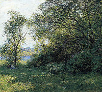 The Bower, 1907, metcalf