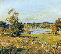 The Breath of Autumn (Waterford, Connecticut), 1915, metcalf