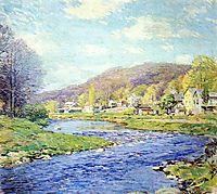 Brook in June, 1919, metcalf