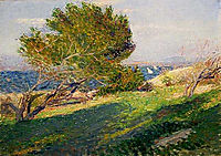 Coast of Brittany, 1886, metcalf