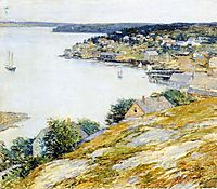 East Boothbay Harbor, 1904, metcalf