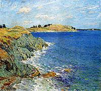 Ebbing Tide, Version Two, 1907, metcalf
