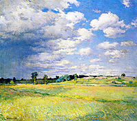 Flying Shadows, 1905, metcalf