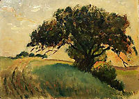 French Landscape, 1886, metcalf