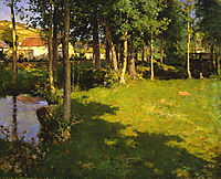 Giverny, 1887, metcalf