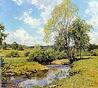 Green Idleness, 1907, metcalf