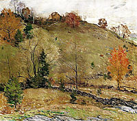 Hillside Pasture, 1924, metcalf