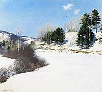 Hush of Winter, 1911, metcalf