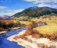 Indian Summer, Vermont, 1922, metcalf