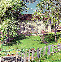 The Little White House, 1919, metcalf