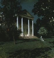May Night, 1906, metcalf