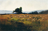 Mountain View from High Field, 1877, metcalf