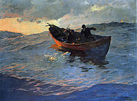 On the Suffolk Coast 02, 1885, metcalf