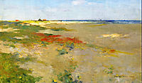 On the Suffolk Coast, 1885, metcalf
